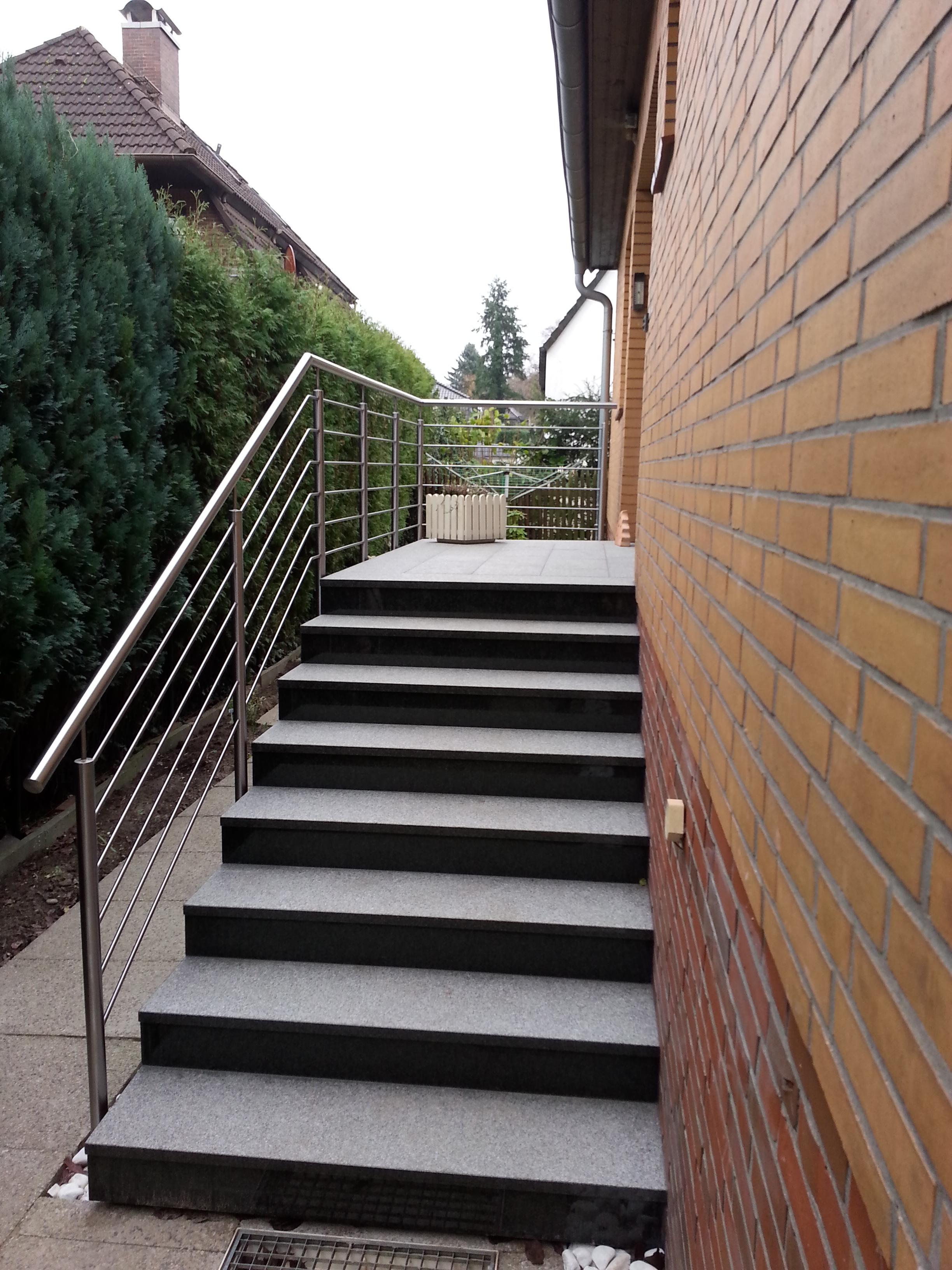 Treppen-und Podestgeländer